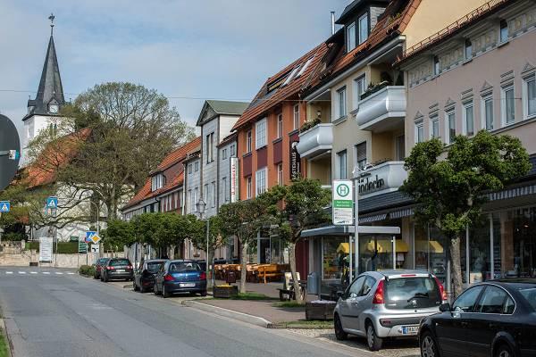 Anfahrt stadteinwärts